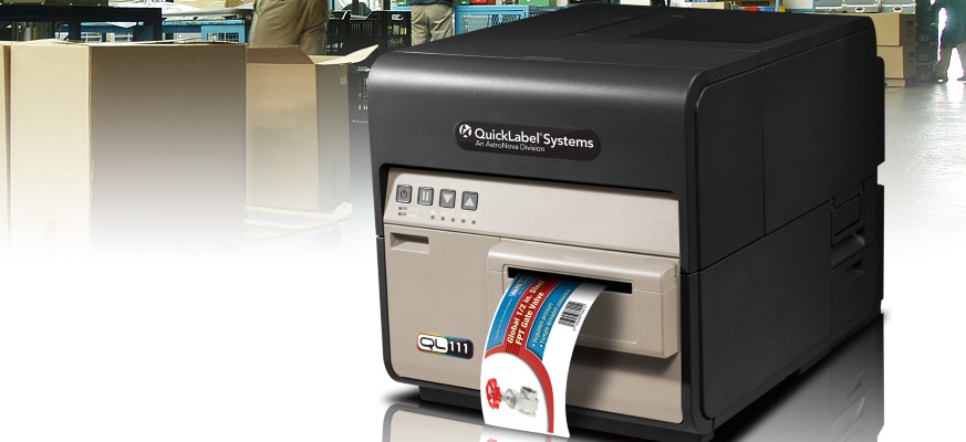 Inkjet printers for colour labels