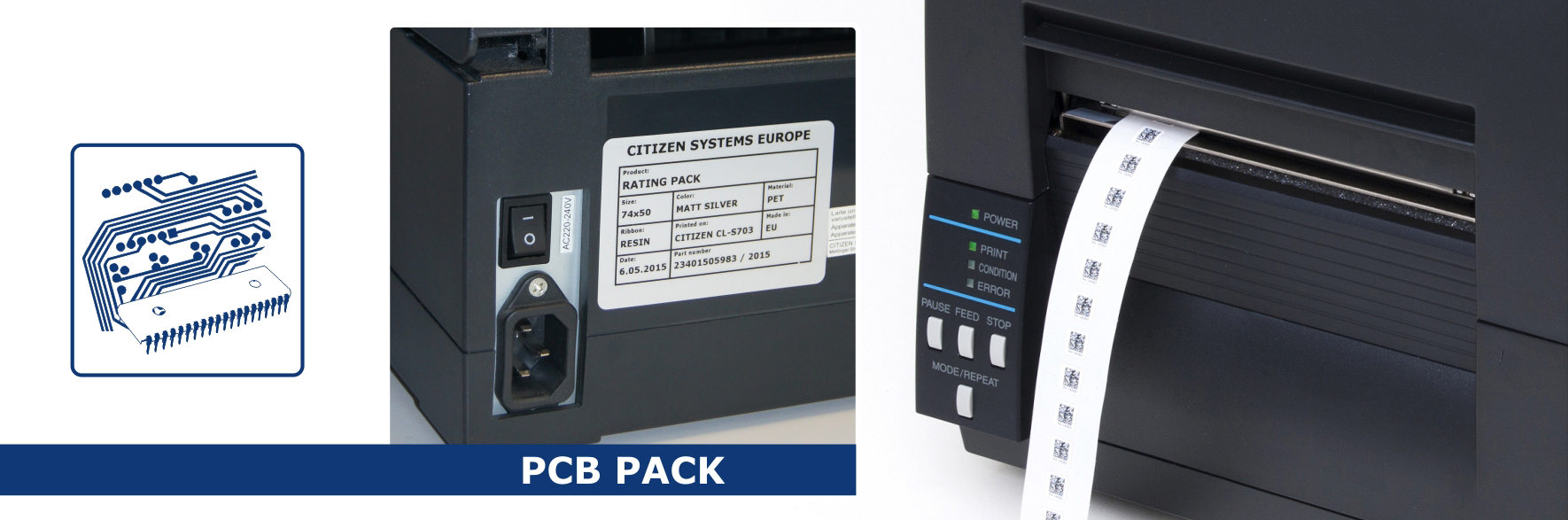 PCB Pack  – for efficient traceability