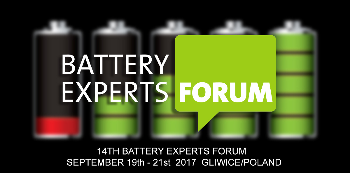 We will be at the Battery Experts Forum organized by BMZ – batteries recharge!