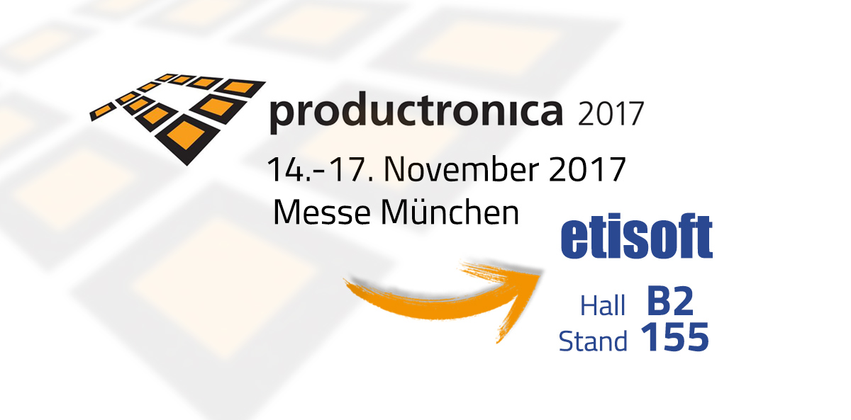 Productronica is coming soon- We'll be there!