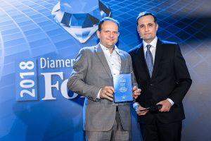 Forbes' Diamond for Etisoft
