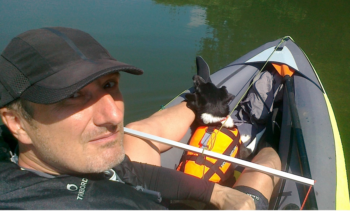 Canoeing the Gliwice Canal alone and in plans… Marseille!