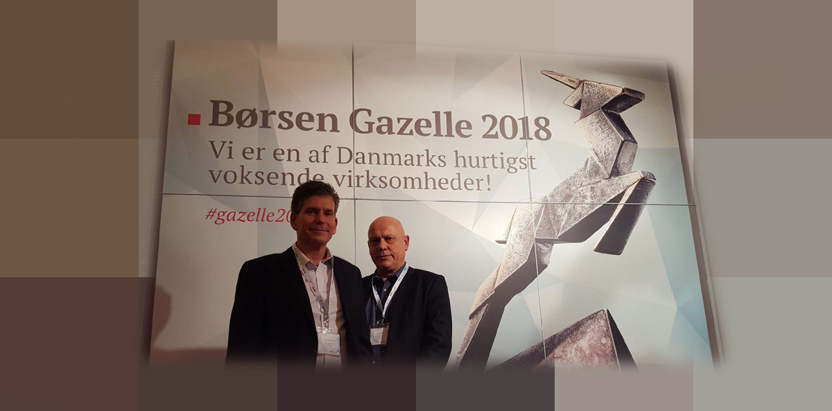 """Etisoft Nordic with the """"Gazelle"""" award"""