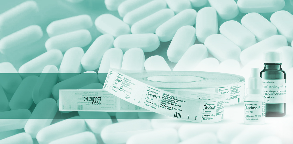 Protective labels for pharmaceutical packaging
