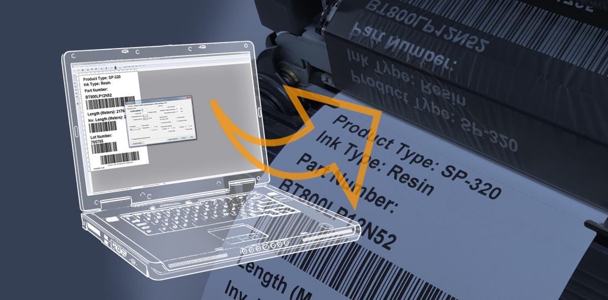 How to design a logistic label with etiLABEL Professional