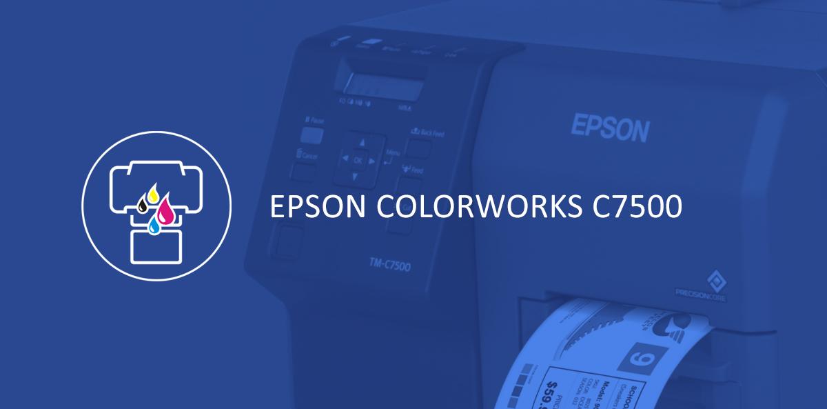 Epson Colorworks C7500/C7500G[infographics]