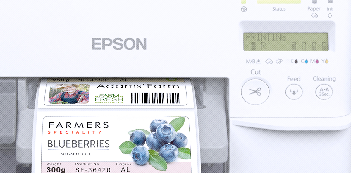 On-demand and colour printing of labels by yourself