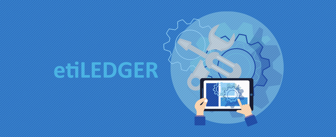 etiLEDGER – electronic reproduction of the machine's structure [infographics]
