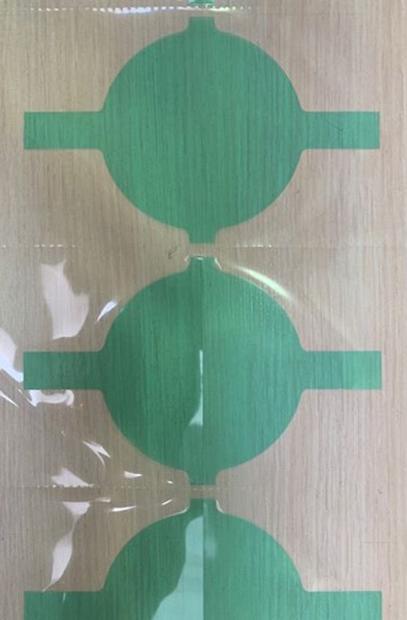 Folia transparentna jako ochrona elementu