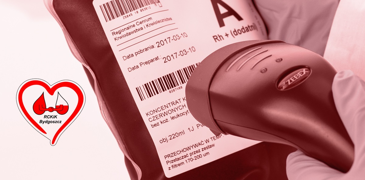 Barcode verification – Etisoft solution for the Regional Centre for Blood Donation and Blood Treatment