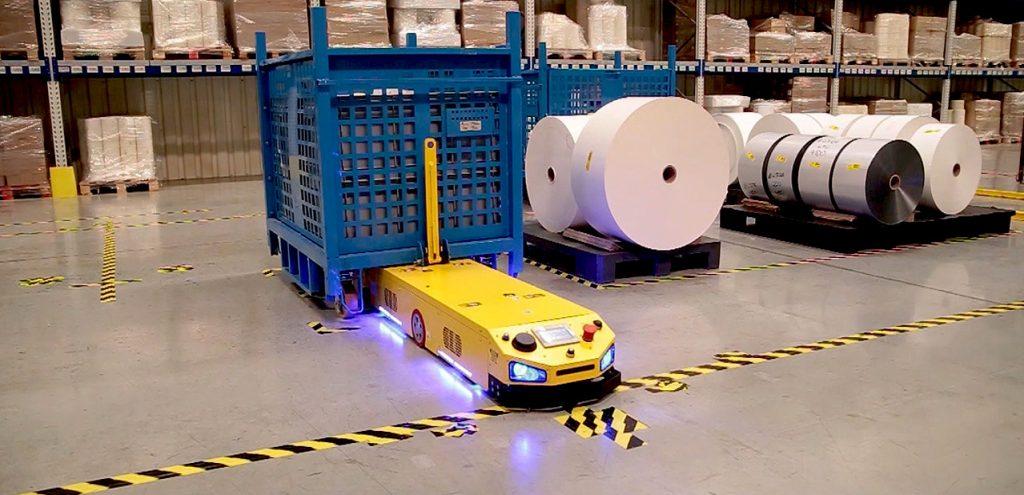 Mobile robots AGV - IntraBot Pull 500