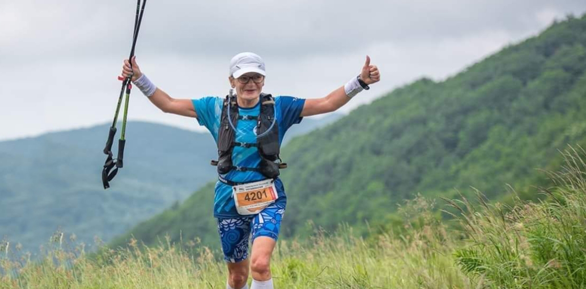 "Eight marathons in the account, and two ultramarathons in the plans-Teresa Brzozowska, our company's ""torpedo"""