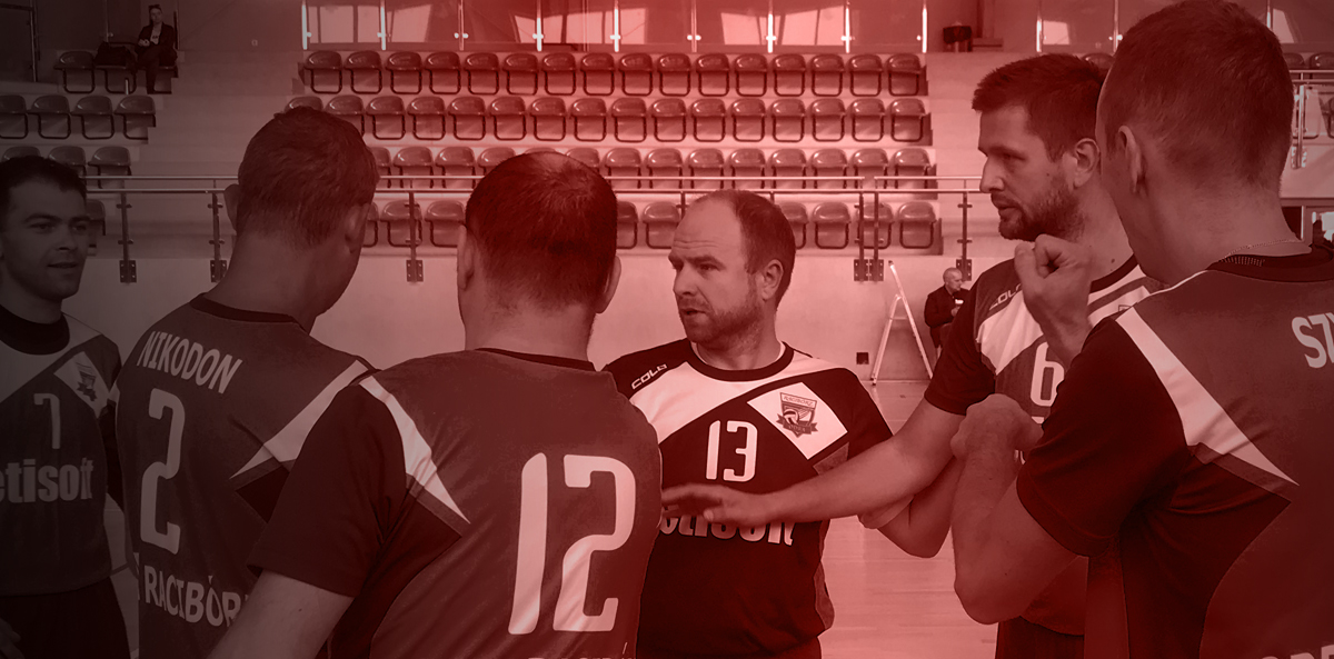 Marcin Jarzombek – with a volleyball team of the deaf achieves significant successes