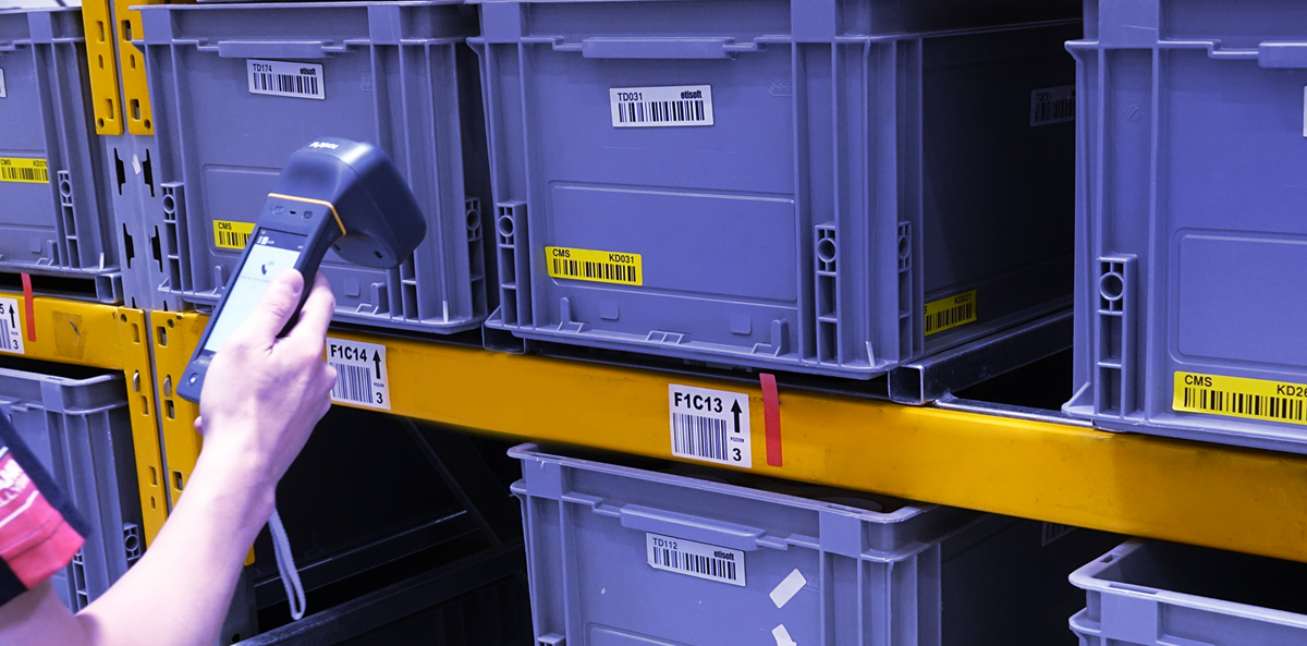 RFID labels for returnable items