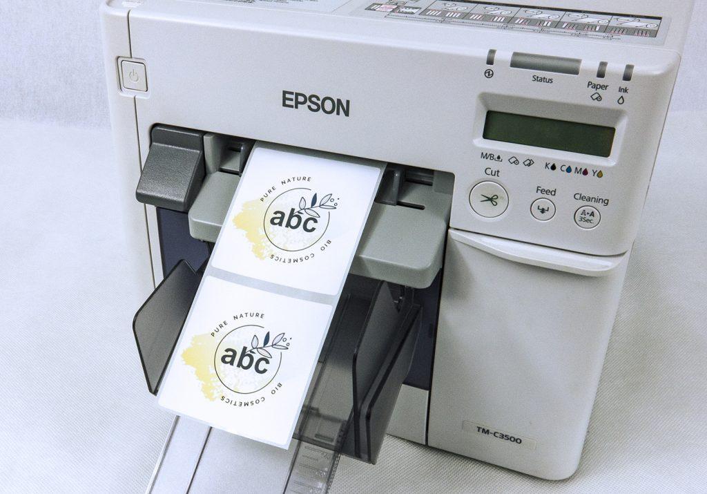 samodzielny druk etykiet na żądanie