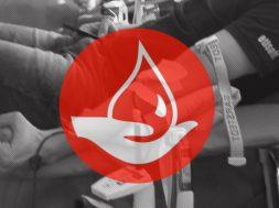regional blood donation centers labels