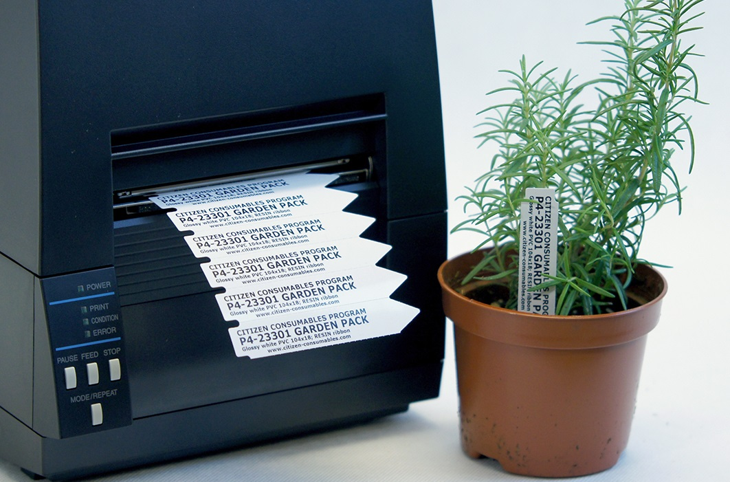 Permanent plant labeling with gardening labels from Garden Pack